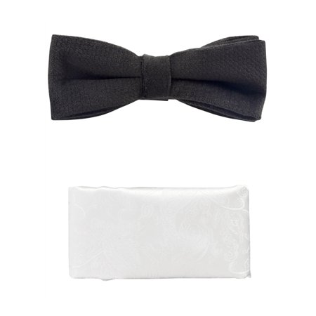 I-N-C Mens Pre-Tied Neck Tie Set white One Size - image 1 of 1