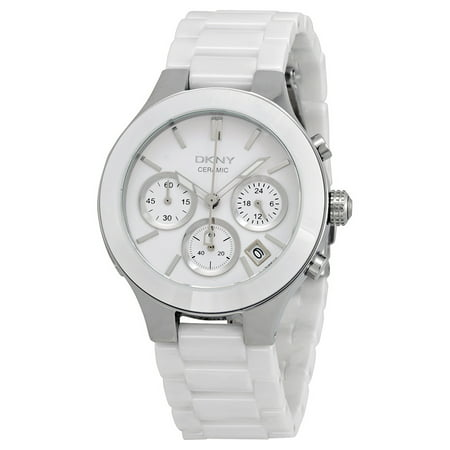 Dkny Women's Chambers NY4912 White Ceramic Quartz Watch