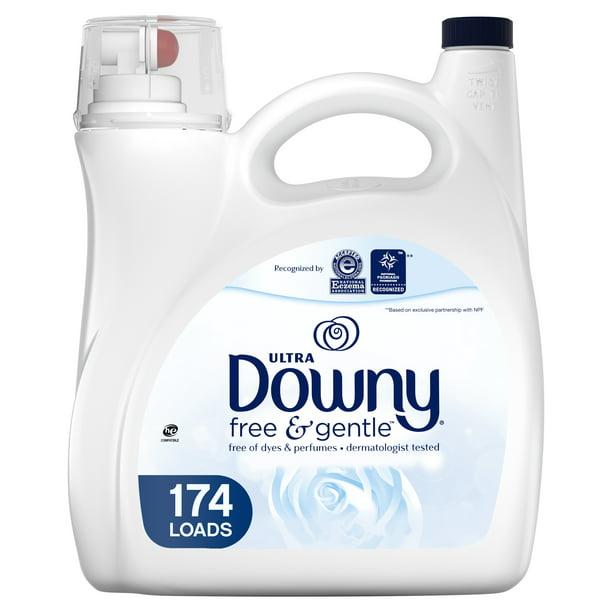 Downy Free Gentle Liquid Fabric Conditioner 174 Loads 150 Fl Oz Walmart Com Walmart Com