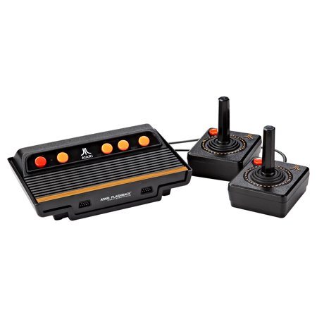 Atari Flashback  8 Classic Game Console With Built In 105 Games And Two Wired Controllers