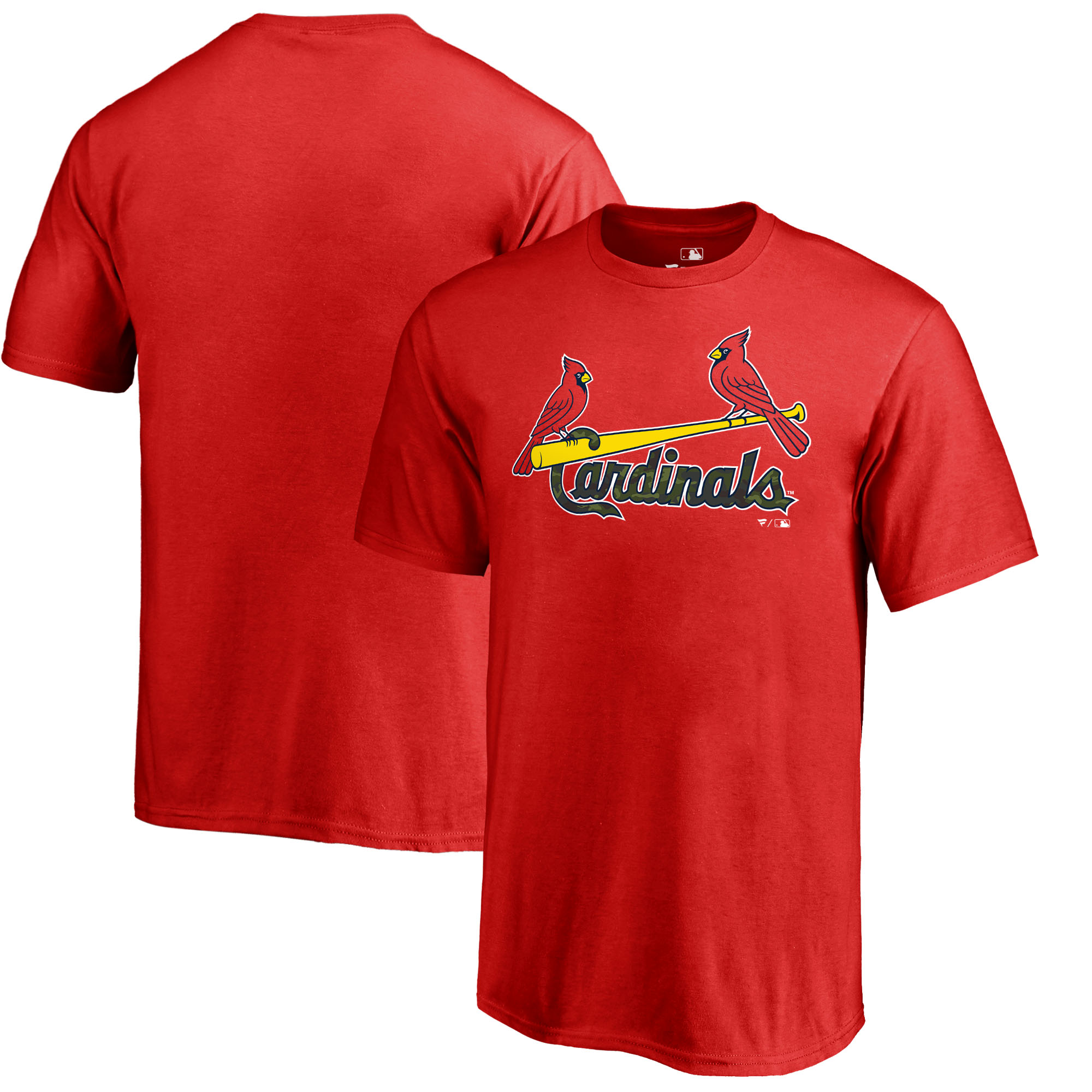 St. Louis Cardinals Fanatics Branded Youth Memorial Wordmark T-Shirt - Red