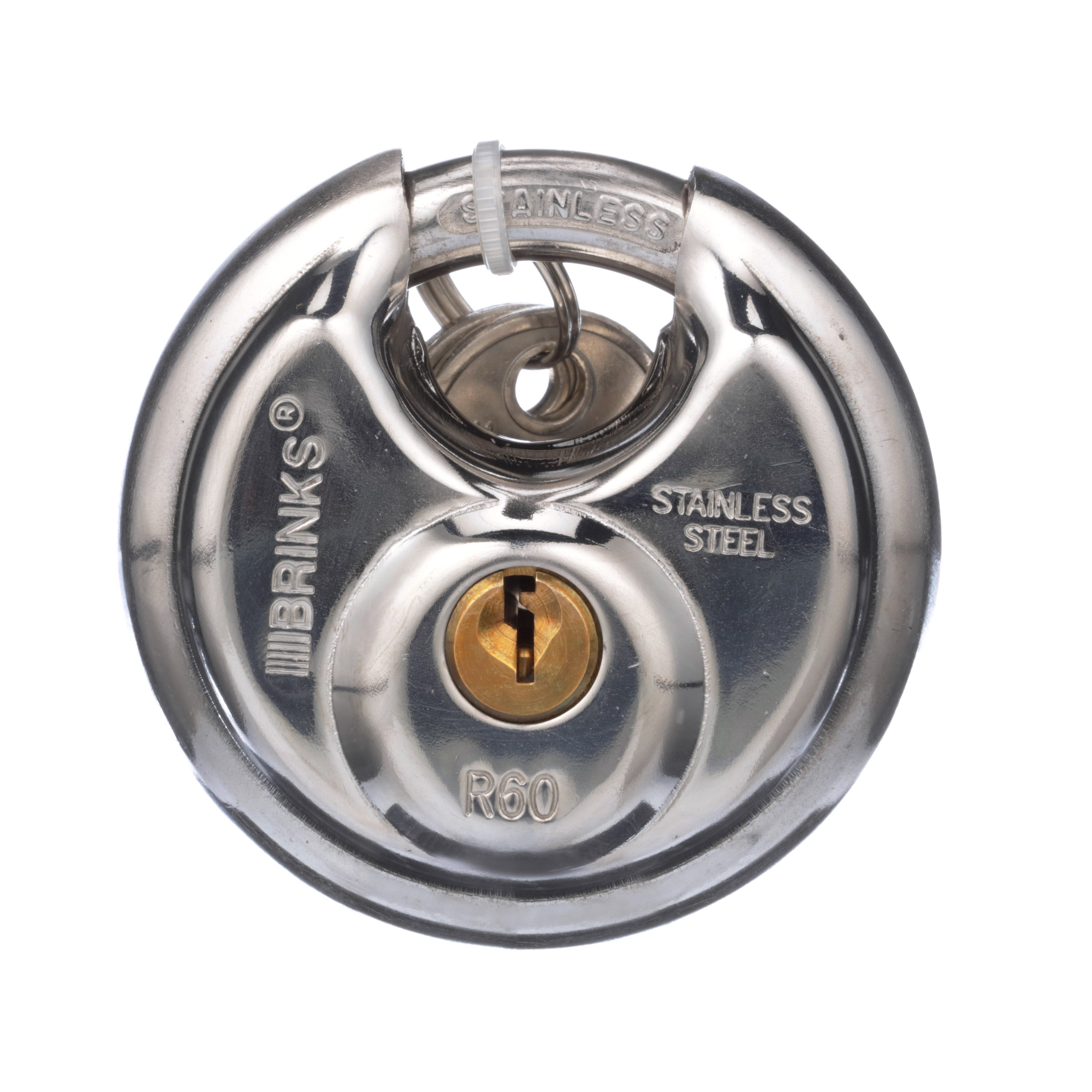 Brink's 60mm Discus Padlock by Hampton Products Int'l Corp.
