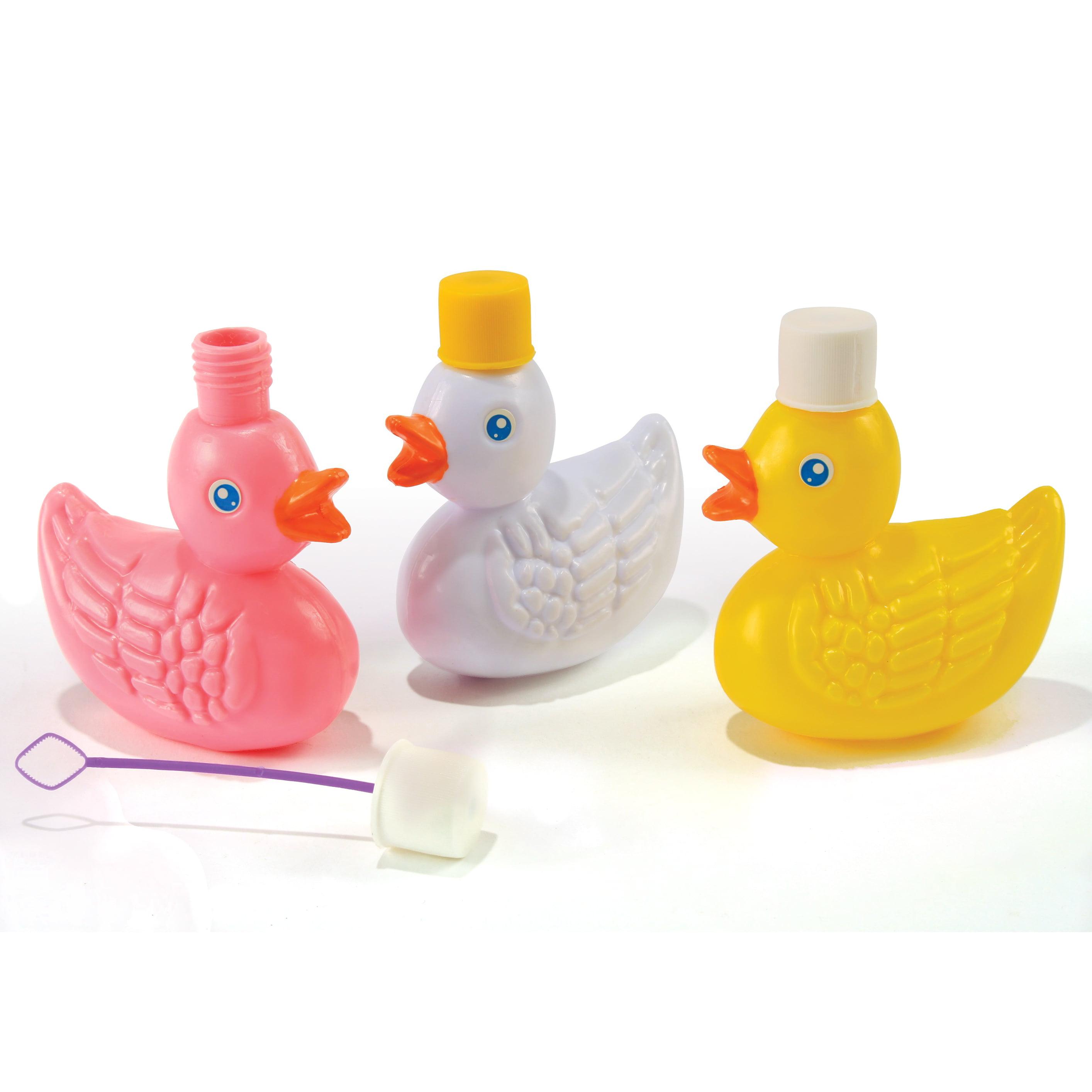 Fun Assorted Easter Li'l Duck Container 2.5 fl. oz Bubbles, Assorted