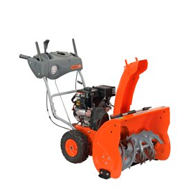 "Yard Machines 24"" Two-Stage Snow Blower with Electric Start - Walmart.com -  Walmart.com"