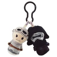 star wars: the force awakens rey/kylo ren itty bittys clippys stuffed animals itty bittys sci-fi