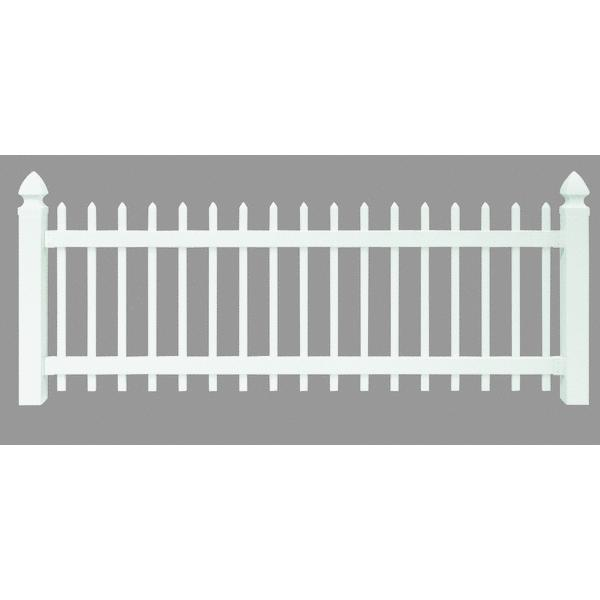 Amarroso 3' X 8' Spaced Picket Yard Fence Section by UFPI LBR & Treated