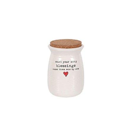 dei - gratitude jar with cork lid