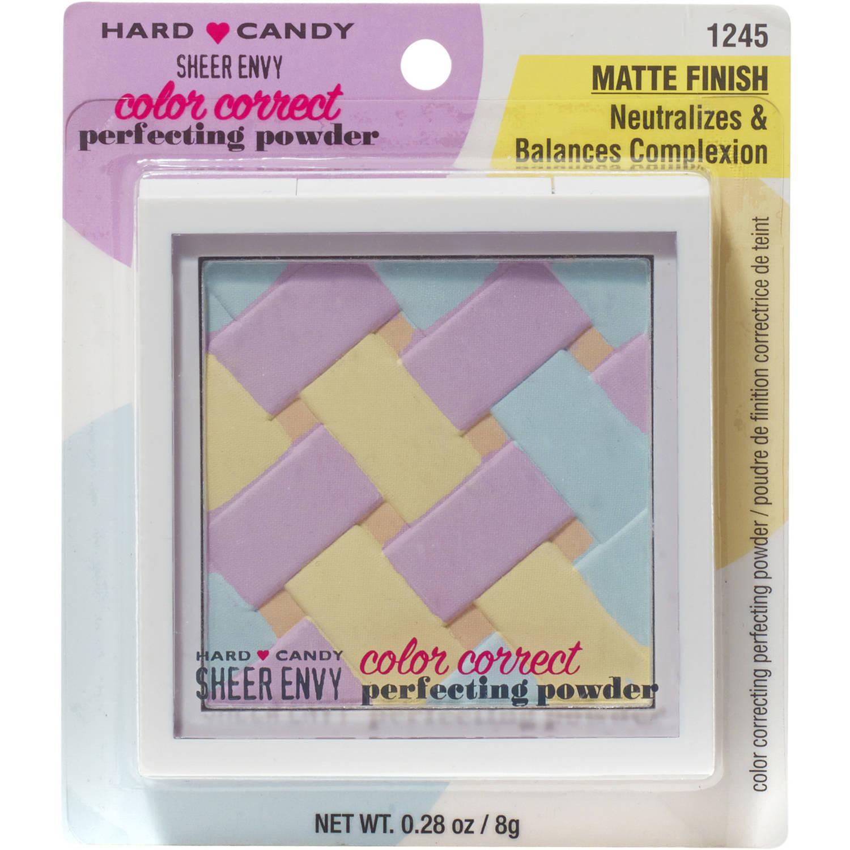 Hard Candy Sheer Envy Color Correct Perfecting Powder, 1245 Matte Finish, 0.28 oz