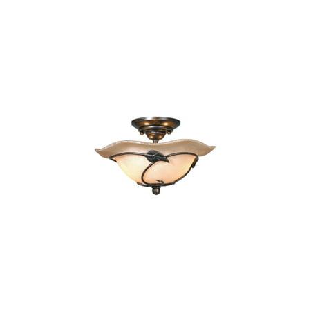 Steel 12 Light - Fan Light Kits 2 Light Fixtures With Oil Shale Finish Steel Material Candelabra 12