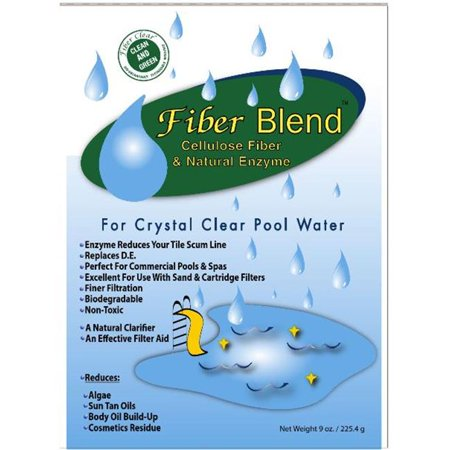 Fiber Clear Crystal Clear Pool Water Blend 2 9 Oz