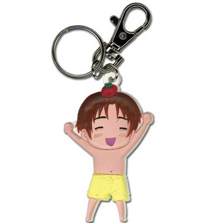 Key Chain - Hetalia - New Italy Yellow Shorts KeyChain Anime Licensed ge5008