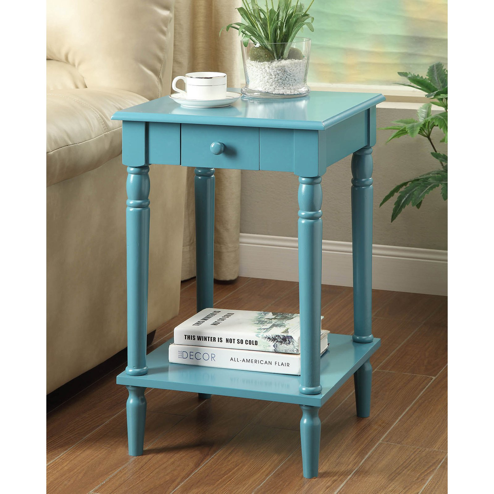Convenience Concepts French Country End Table, Multiple Colors ...