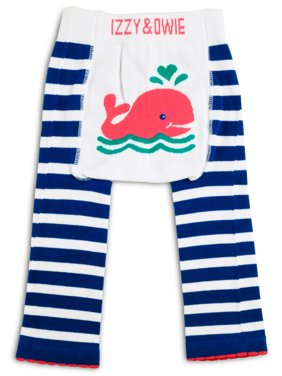 Izzy & Owie - 6-12 Month Whale Baby Girl Leggings