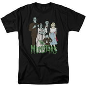 The Munsters The Family Mens Short Sleeve Shirt