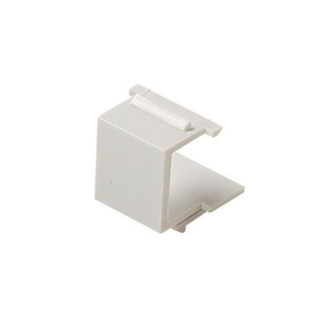 Black Point Products BT-205 WHITE White Cat-5 Blank Keystone Cover, White - image 1 of 1