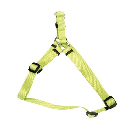 "Comfort Wrap Nylon Harness - Lime - Small - 5/8"" (16"" to 24"" girth)"