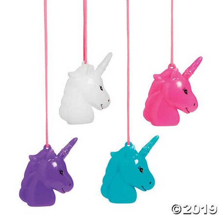 Unicorn Bubble Necklaces](Bubble Necklace)