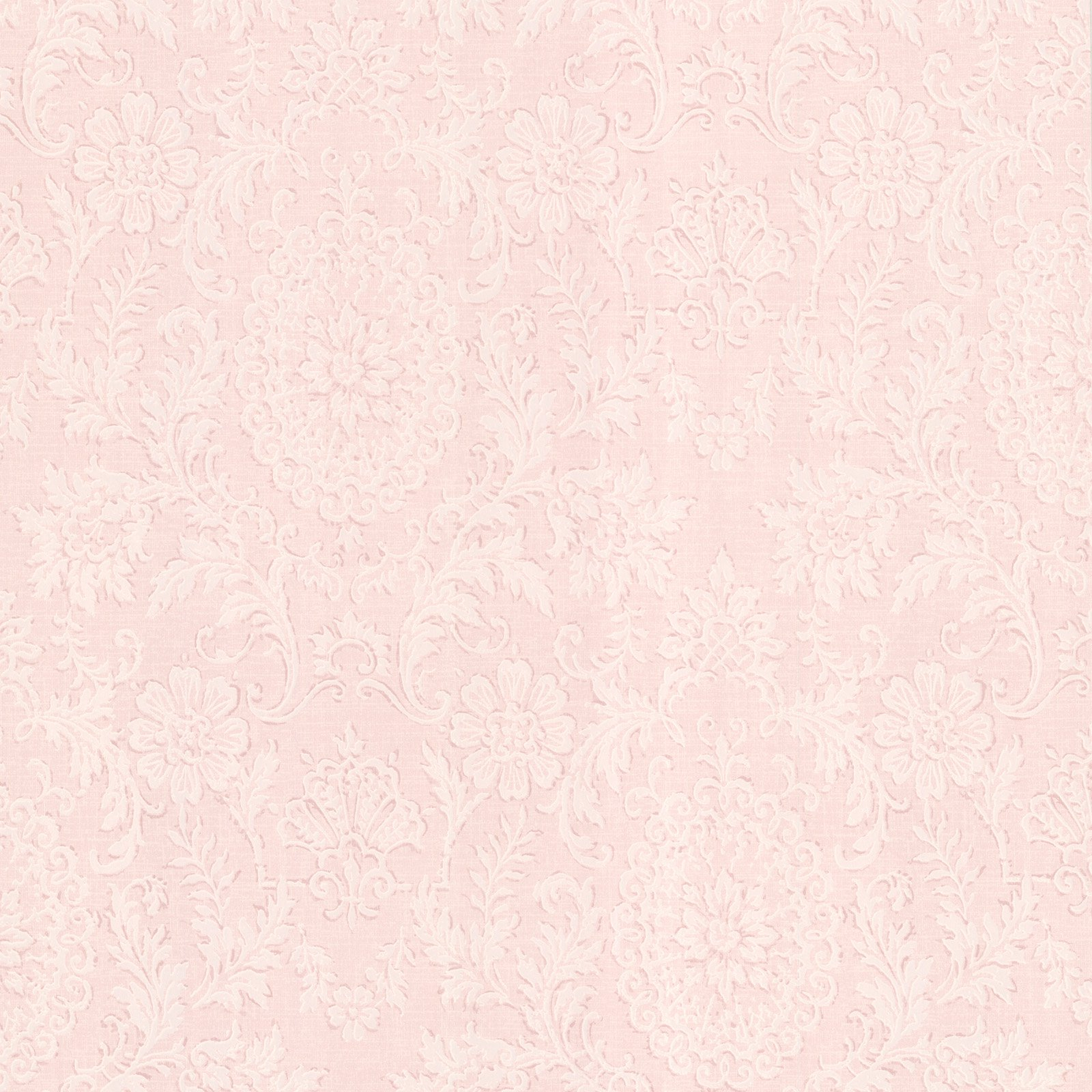 Brewster Beacon House 302-66885 Ornament Damask Motif Wallpaper, Blush