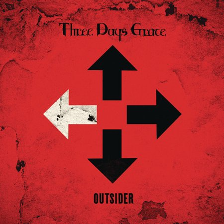 Outsider (CD) (Three Days Grace Cd)
