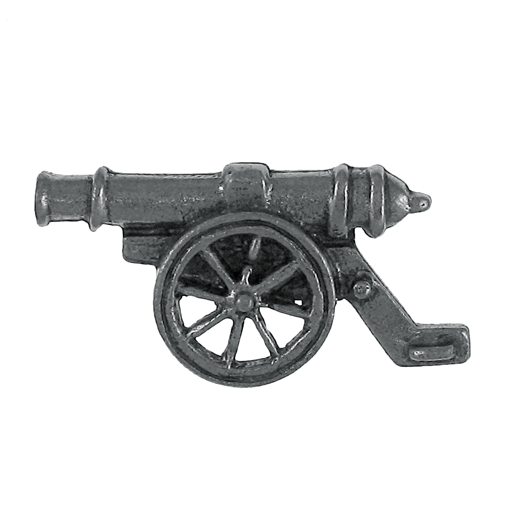 Cannon Lapel Pin 1 Count by Jim Clift Design
