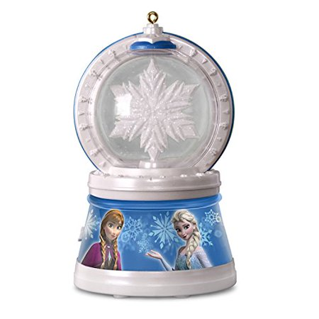 hallmark disney frozen snowflake with light sound and motion