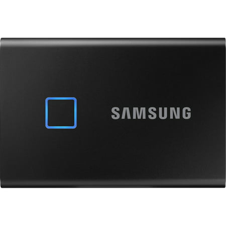 Samsung MU-PC2T0K/WW Portable SSD T7 Touch USB 3.2 2TB - Black