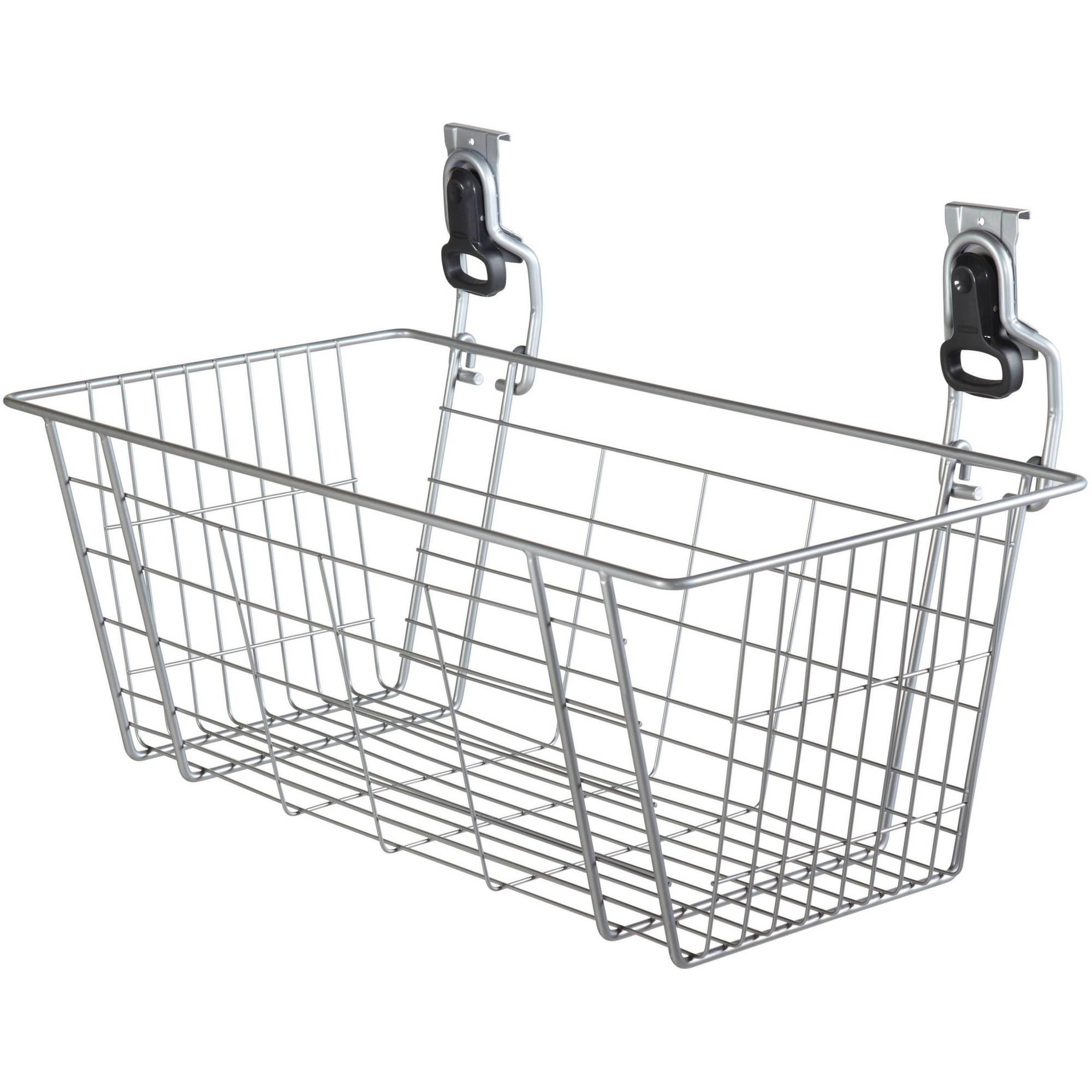 """Rubbermaid Home Prod Dorfile 1784453 24"""" FastTrack Wire Basket"""