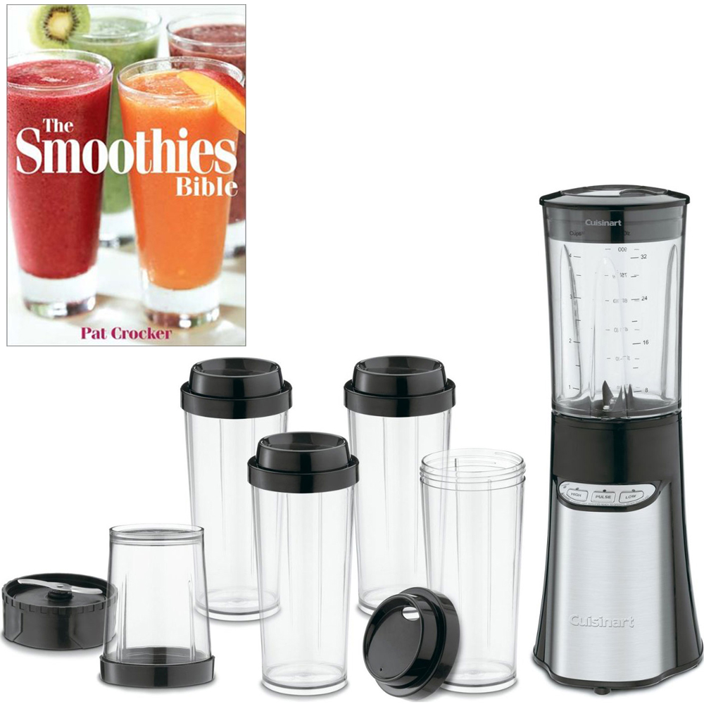Cuisinart CPB-300 - SmartPower 15-Piece Compact Portable Blending/Chopping System w/Smoothie Recipe Book