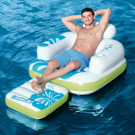 Bestway Tiki Time Lounger Swimming Pool Float (Best Way To Record League Of Legends)