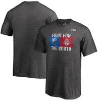 Toronto FC vs. Montreal Impact Fanatics Branded Youth MLS Rivalry Week Goal Keeper T-Shirt - Heather Gray