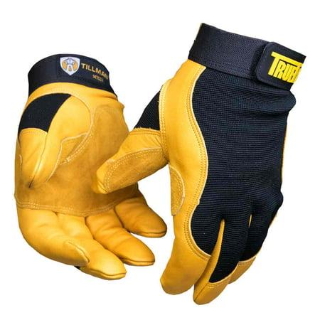 Tillman 1475 True Fit Premium Top Grain Cowhide Perform. Work Gloves, - True Fit Top Grain