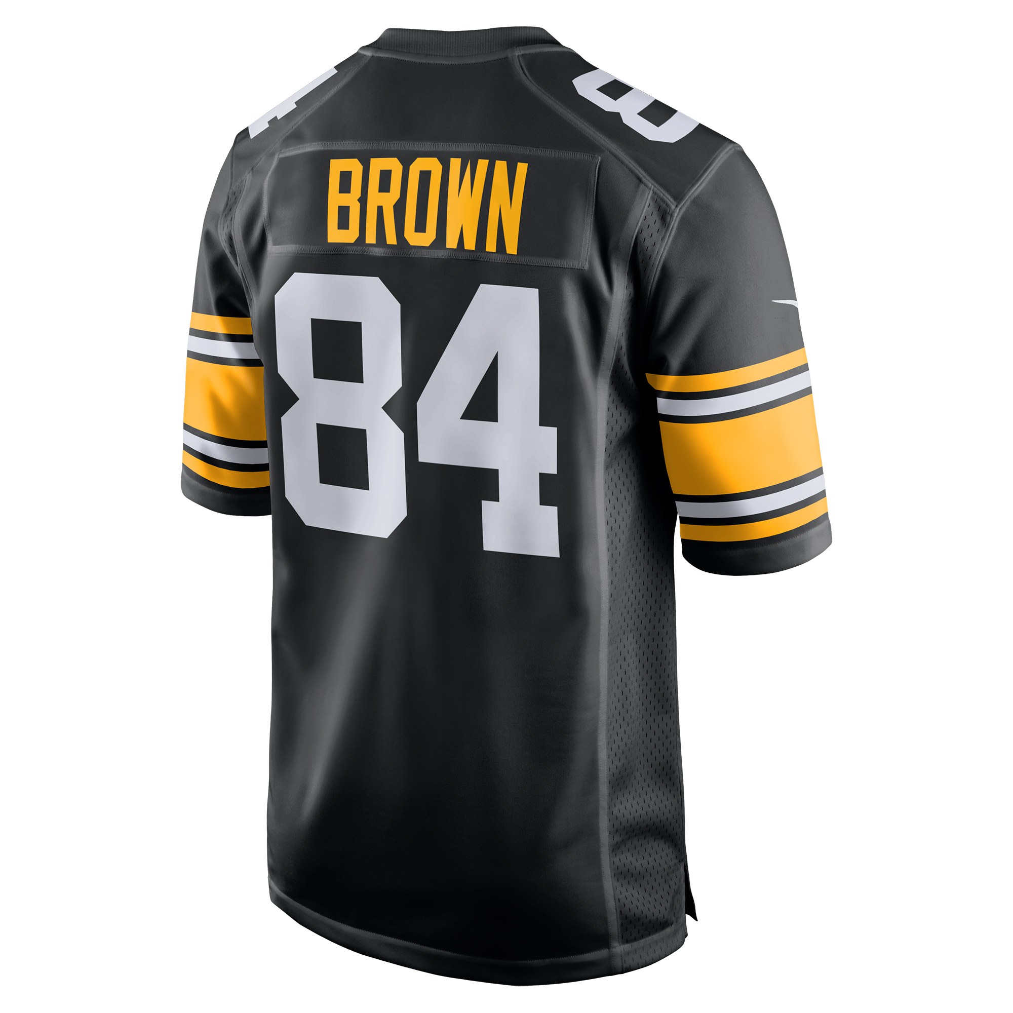 b12c69de8 Antonio Brown Pittsburgh Steelers Nike Youth Alternate Game Jersey - Black  - Walmart.com