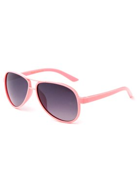 "Newbee Fashion - ""Aviator"" Kids Sunglasses Girls Boys Plastic Aviator Fashion Sunglasses UV Protection Comfortable for All Ages"