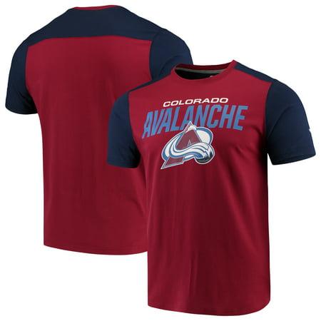 Colorado Avalanche Fanatics Branded Iconic T-Shirt - Burgundy