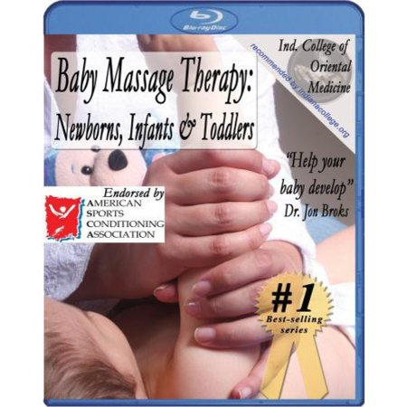 Baby Massage Therapy: Newborns, Infants & Toddlers Instructional Video [Blu-ray] (Infant Massage Video)