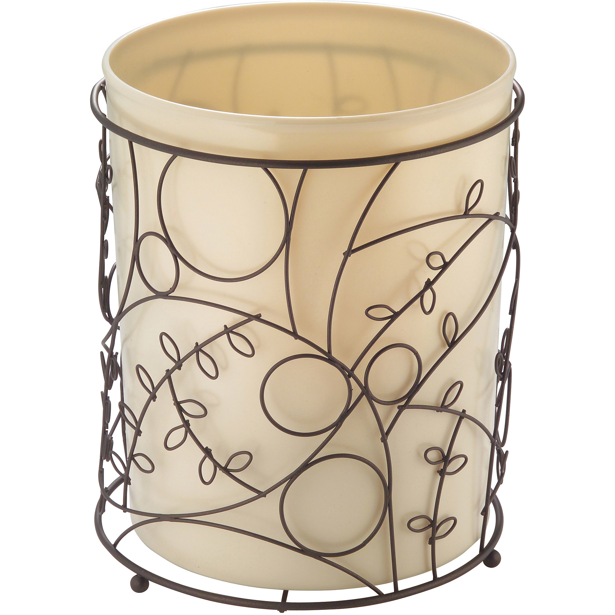 InterDesign Twigz Wastebasket Trash Can