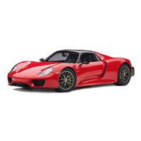 Porsche 918 Spyder Red 1/12 Model Car by Autoart