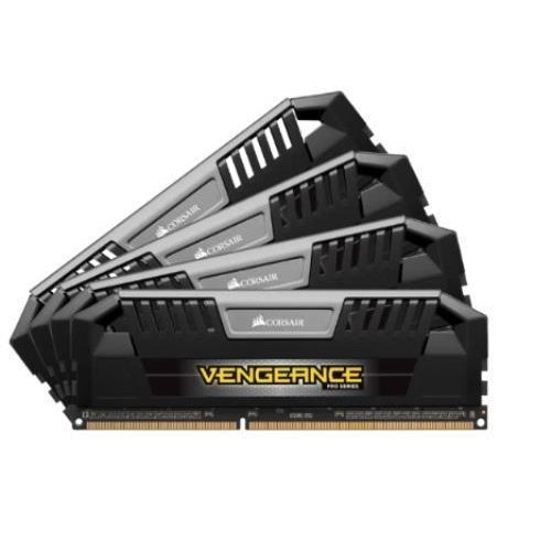 Corsair 32GB Vengeance Pro DDR3 SDRAM Memory Module - 32 GB (4 x 8 GB) - DDR3 SDRAM - 2133 MHz - 1.50 V - Unbuffered - 240-pin - DIMM