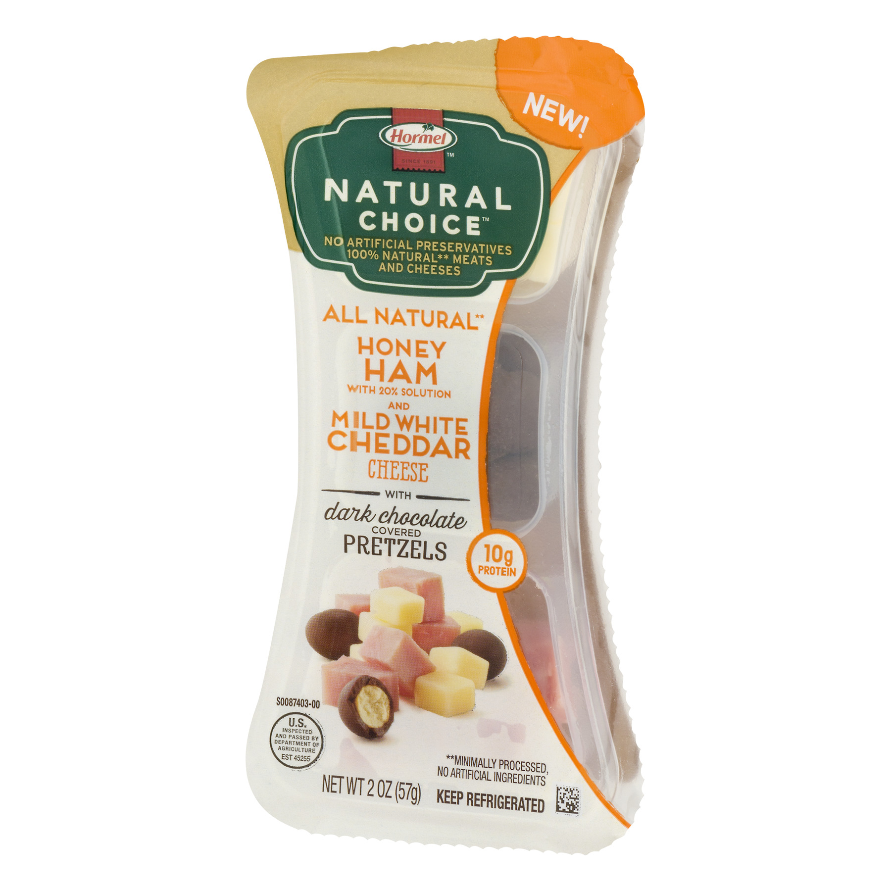 Hormel Natural Choice Snacks with Hormel Honey Ham, White Cheddar ...