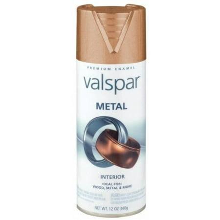 12 oz metallic metal spray paint valspar spray paint 66003 copper. Black Bedroom Furniture Sets. Home Design Ideas