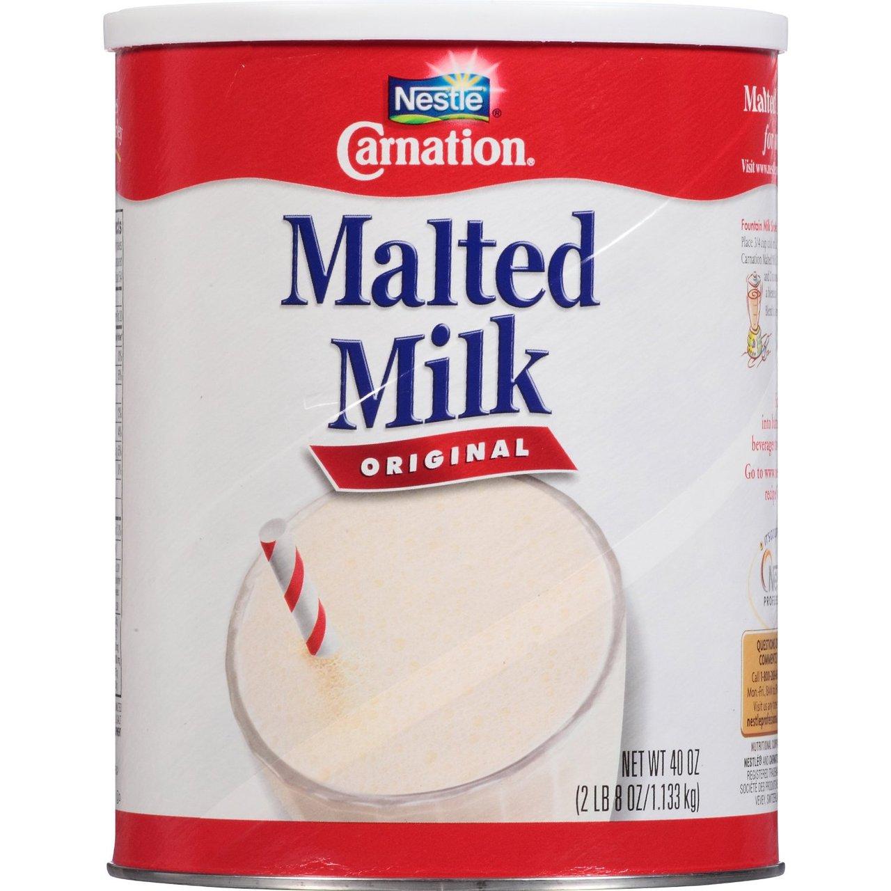 6 PACKS : Carnation Malted Milk, Original 2 Lb 8-Oz