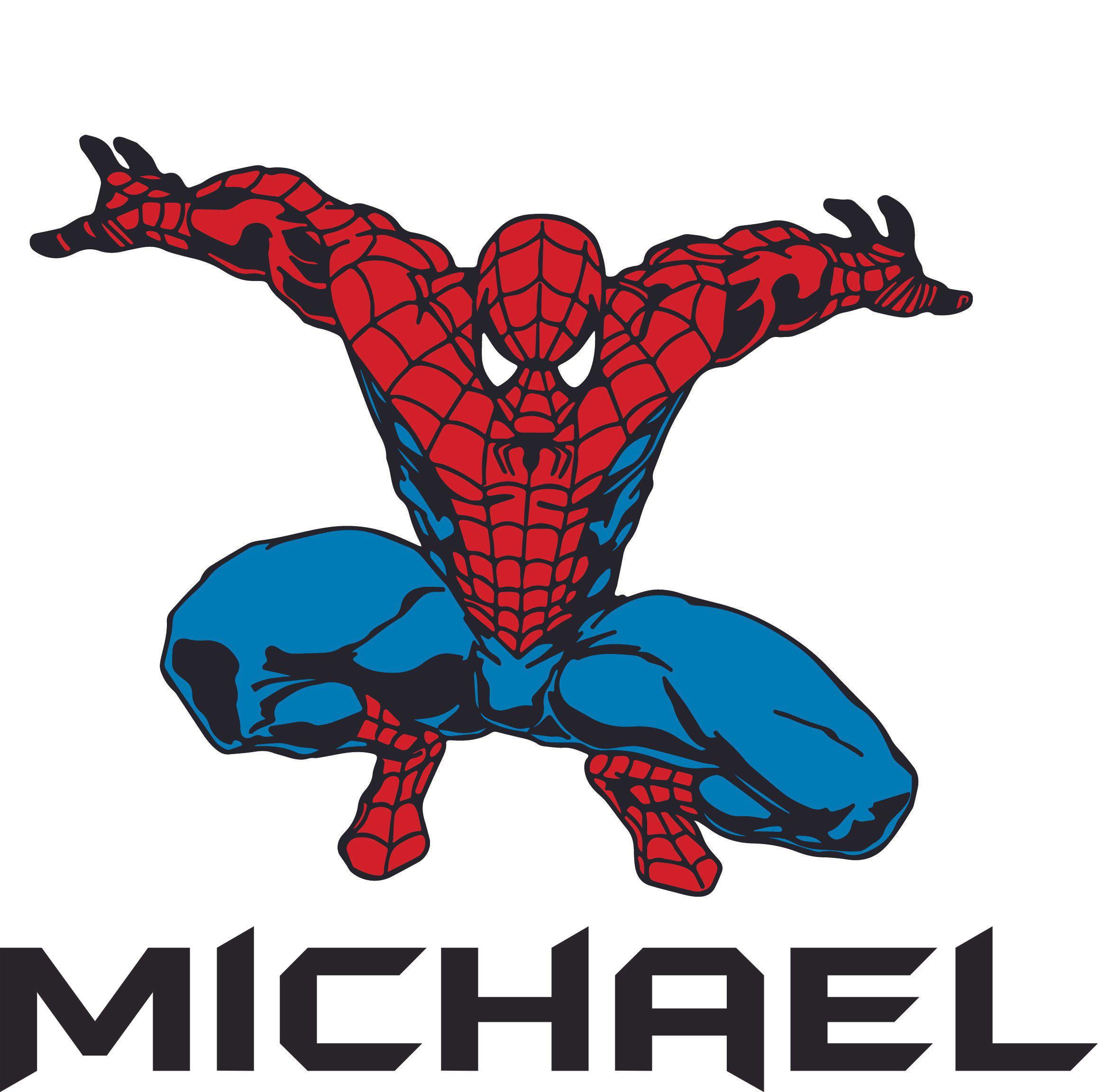 Avengers Spiderman Marvel  boys *Any Superhero Childrens personalised letters