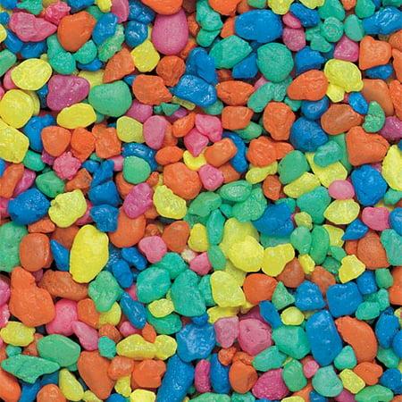 - Estes PermaGlo Gravel - Rainbow - 2 lb