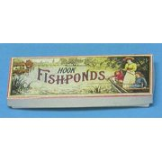 Dollhouse Fishpond Game, Antique Reproduction