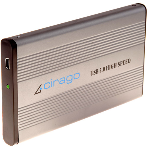 Cirago Refurbished CST1000 Series 160GB USB Portable Storage