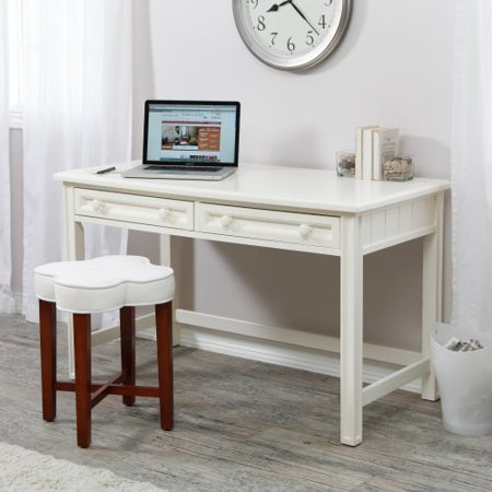 Belham Living Casey Writing Desk White Walmart Com
