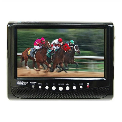 "Digital Prism 7"" Portable Digital HDTV, 481217 ATSC-710"