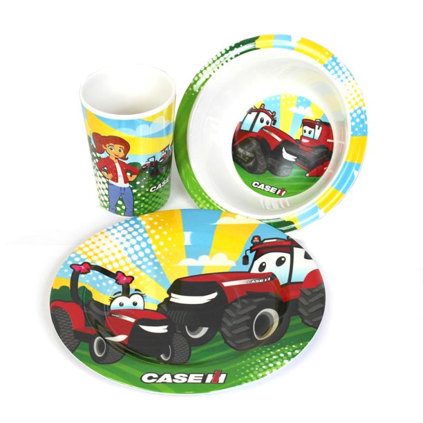 Casey and Friends 3-Piece Dish Set MH-8900