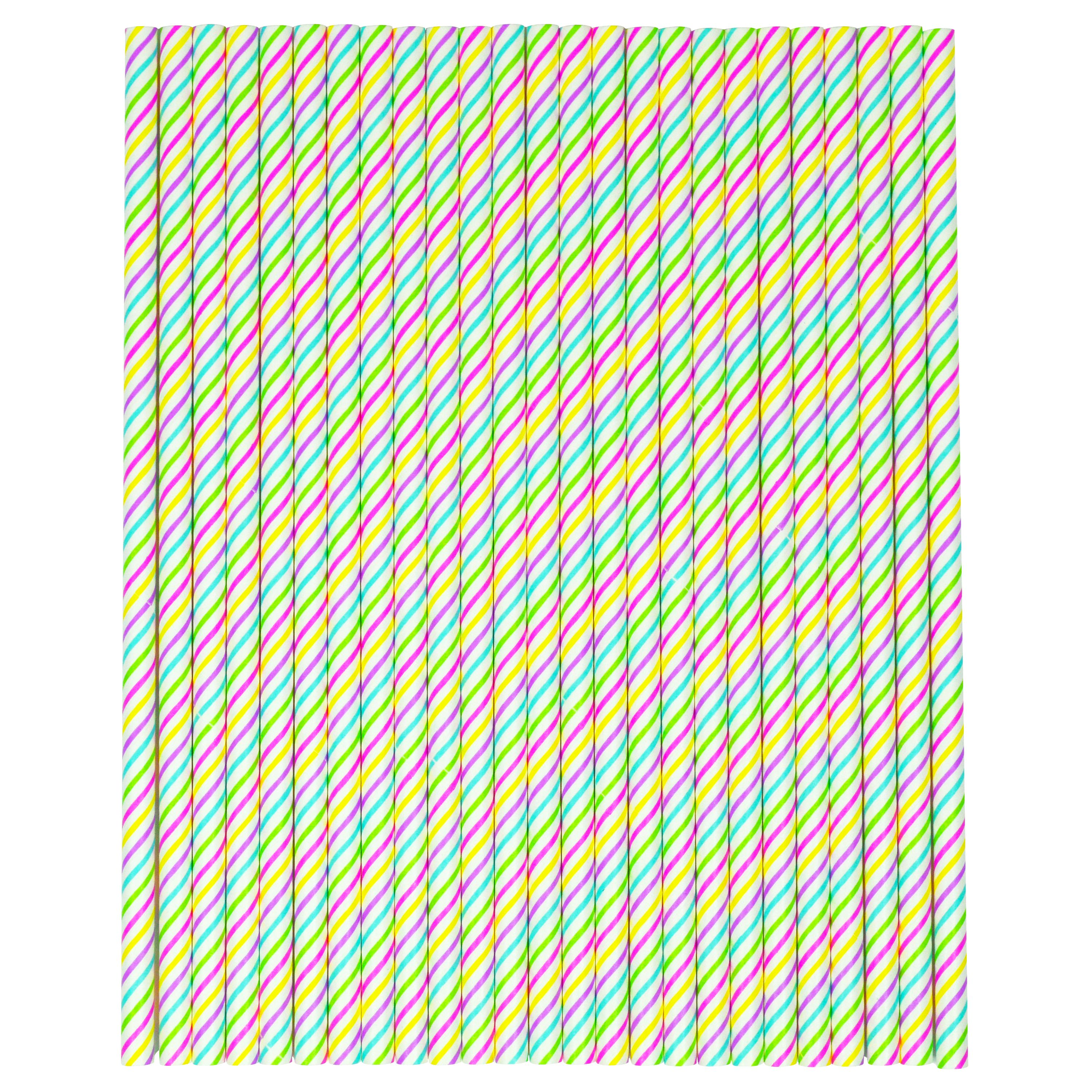 Easter -wal-mart 25ct Paper Straw