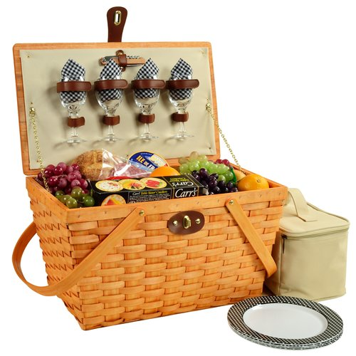 Picnic At Ascot Settler 4 Person Picnic Basket